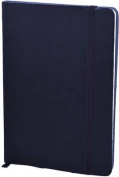Monsieur Notebook Soft Leather Journal - Midnight Blue Ruled Medium