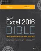 Excel 2016 Bible (Bible)