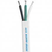 Ancor White Triplex Cable - 10/3 - 100'