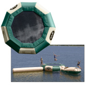 RAVE Aqua Jump Eclipse 150 Northwoods Water Park w/Launch & Log