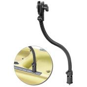 RAM Mount Flex Arm Mounting System w/Quick Release Post Pinlock Base, 46cm Rigid Aluminium Rod & Single Socket Arm