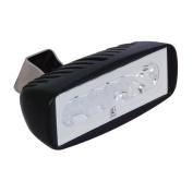 Lumitec Caprera 2 Dual Colour LED Floodlight - White & Blue Dimming Light, Black Housing