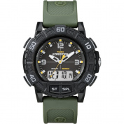 Timex Expedition Double Shock Combo Watch - Black/Green
