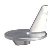Tecnoseal Trim Tab Anode - Zinc - f/Large Propeller - Mercury 50-140HP