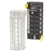 Blue Sea 5052 ST CLB Circuit Breaker Block - 6 Position w/Negative Bus