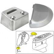 Tecnoseal Anode Kit w/Hardware - Volvo SX - Zinc