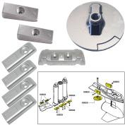 Tecnoseal Anode Kit w/Hardware - Mercury Verado 6 - Aluminium