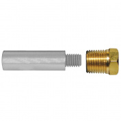 Tecnoseal E0 Pencil Zinc w/Brass Cap