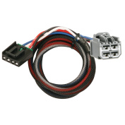Tekonsha Brake Control Wiring Adapter - 2 Plug, Dodge & Jeep