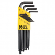 Klein Tools L-Style Ball-End Hex-Key Caddy Set - Standard