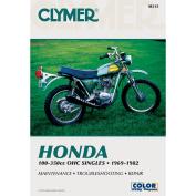 Clymer Honda 100-350cc OHC Singles