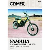 Clymer Yamaha 80-175cc Piston-Port