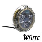 Bluefin LED Piranha P3 Surface Mount Underwater LED Light - 1100 Lumens - Diamond White
