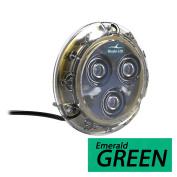 Bluefin LED Piranha P3 Surface Mount Underwater LED Light - 1100 Lumens - Emerald Green