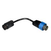 Lowrance TA-UQ2BL-T Uniplug Transducer Adapter to Blue Unit