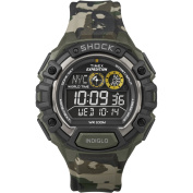 Timex Expedition Global Shock Watch w/Negative Display - Camo