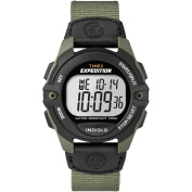 Timex Expedition Full Size Chrono Alarm Timer Core Watch - Green