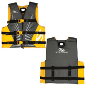 Stearns Youth Antimicrobial Nylon Vest Life jacket - 50-90lbs - Gold Rush