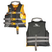 Stearns Child Antimicrobial Nylon Vest Life Jacket - 30-50lbs - Gold Rush
