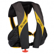 Onyx Outdoor A/M-24 Deluxe Auto/Manual Inflate Life Jacket Carbon 132100-701-004-15