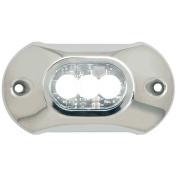 Attwood Light Armour Underwater LED Light - 3 LEDs - White