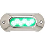 Attwood Light Armour Underwater LED Light - 6 LEDs - Green