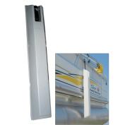 Dock Edge 'TOON Pontoon Boat Fender - 90cm - Grey