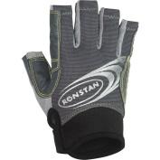 Ronstan Sticky Race Gloves w/Cut Fingers - Grey - Large