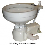 Raritan Sea Era Household Size Toilet - Press - Fresh Water - Straight & 90° Discharge - Smart Switch - White