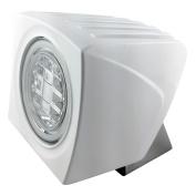Lumitec Cayman Superwhite Dimming LED Flood Light White Housing