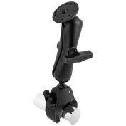 RAM Mount Medium Tough-Claw Base w/Double Socket Arm & 3.8cm Round Base Adapter
