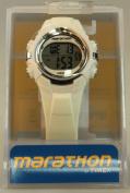 Timex Marathon Digital Mid-Size Watch - White