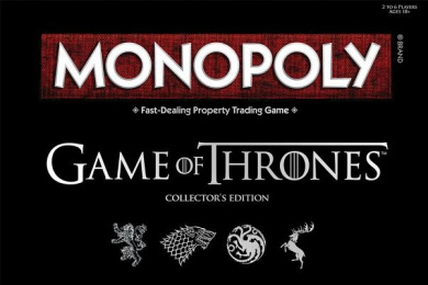 Maven Gifts: Risk: Game of Thrones Board Game with Monopoly: Game of Thrones Collector's Edition Board Game