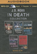 J. D. Robb in Death Collection Books 16-20 [Audio]