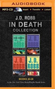 J. D. Robb in Death Collection Books 26-29 [Audio]