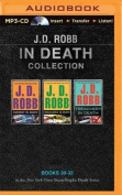 J. D. Robb in Death Collection Books 30-32 [Audio]