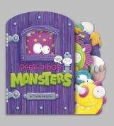 Peek-a-Boo Monsters (Charles Reasoner Peek-a-Boo Books) [Board book]
