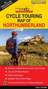 Cycle Touring Map of Northumberland - Official