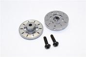 Traxxas Latrax Rally Upgrade Parts Aluminium Brake Disc Hex Adapter (+3mm) - 2 Pcs Set Grey Silver