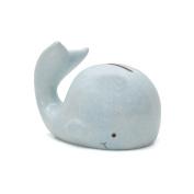 Child to Cherish Mini Whale Piggy Bank, Blue