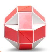 Shengshou® Snake 38cm Magic Ruler Twist Puzzle Red/white
