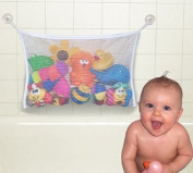 icolor Practical Baby Toy Tidy Storage Suction Cup Bag Mesh Net Bathroom Organiser,Bath Toy Bag
