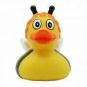 Lilalu 8 x 8 cm/50 g Collector and Baby Bee Susi Rubber Duck Bath Toy