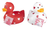 Giant Love Heart Rubber Duck Kids Baby Toddler Bath Time Fun Floating Toy