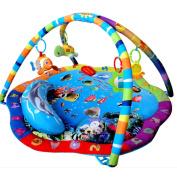 [Golden Tulip®]Baby Musical Ocean World Play Mat Gym Sealife Adventure Activity playmat 215110