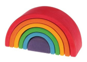 Lime wooden rainbow, Grimm's 17 cm