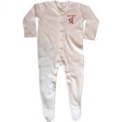 Baby Boys & Girls Santa Baby Christmas White Baby All In One Sleepsuit