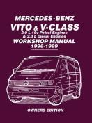 Mercedes-Benz Vito & V-Class Workshop Manual 1996-1999