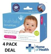 Brush Baby 28 Dental Wipes **4 PACK DEAL**
