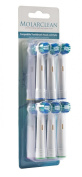 12 Pack Molarclean Toothbrush Heads Compatible with Oral-B